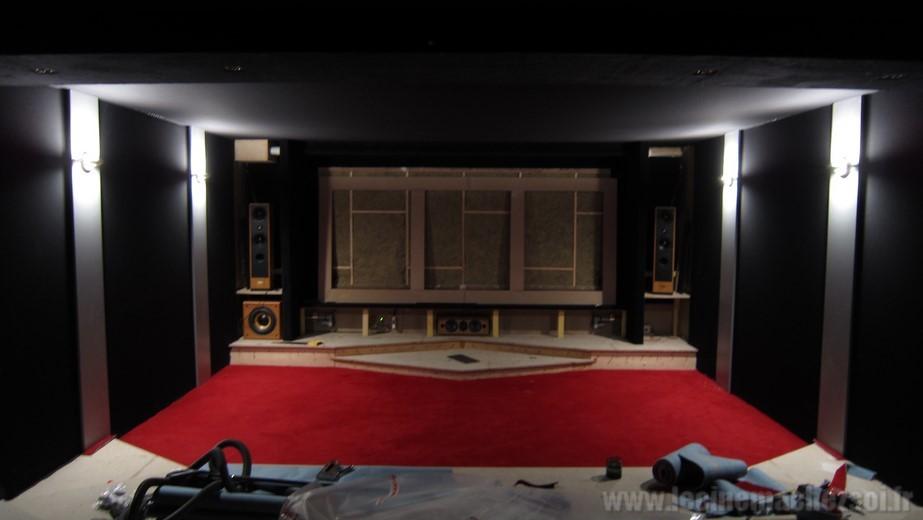le cin ma chez soi les tapes de la construction de la salle n 2. Black Bedroom Furniture Sets. Home Design Ideas
