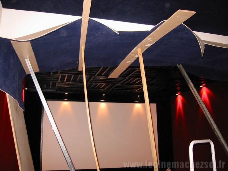 le cin ma chez soi les tapes de la construction de la salle n 1. Black Bedroom Furniture Sets. Home Design Ideas