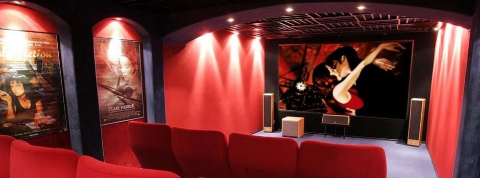 Le Cinema Chez Soi Construire Une Salle Home Cinema